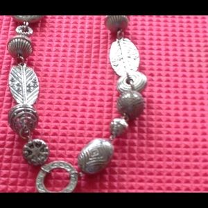 Necklace by chico's 19 inches long